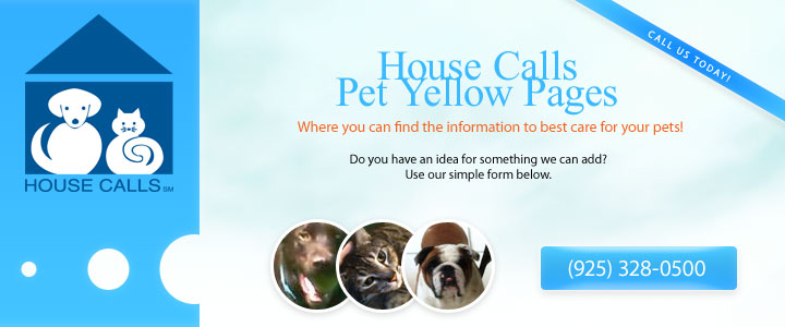 House Calls Pet Yellow Pages