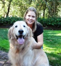 Danville dog walker Elizabeth with House Calls Pet Sitting