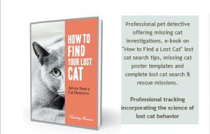 Lost Cat Finder Book